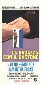 The Walking Stick - Italian Movie Poster (xs thumbnail)