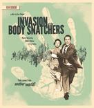 Invasion of the Body Snatchers - Blu-Ray cover (xs thumbnail)