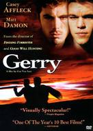Gerry - DVD cover (xs thumbnail)
