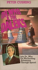 Dr. Who and the Daleks - British VHS cover (xs thumbnail)