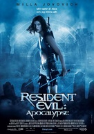 Resident Evil: Apocalypse - Danish Movie Poster (xs thumbnail)