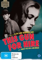 This Gun for Hire - Australian DVD movie cover (xs thumbnail)