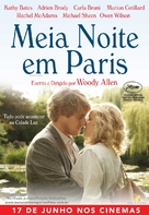 Midnight in Paris - Brazilian Movie Poster (xs thumbnail)