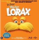 The Lorax - Dutch Blu-Ray cover (xs thumbnail)