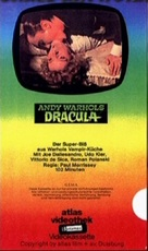Blood for Dracula - German VHS cover (xs thumbnail)