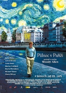 Midnight in Paris - Czech Movie Poster (xs thumbnail)