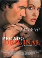 Original Sin - Spanish Movie Poster (xs thumbnail)