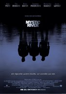 Mystic River - German Movie Poster (xs thumbnail)