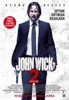 John Wick: Chapter Two - Turkish Movie Poster (xs thumbnail)