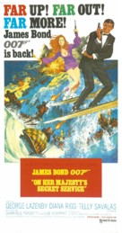 On Her Majesty's Secret Service - Australian Movie Poster (xs thumbnail)