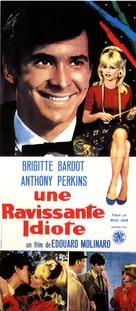 Une ravissante idiote - French Movie Poster (xs thumbnail)