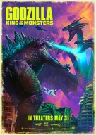 Godzilla: King of the Monsters - British Movie Poster (xs thumbnail)