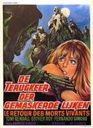 El ataque de los muertos sin ojos - Belgian Movie Poster (xs thumbnail)
