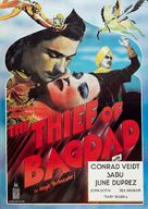 The Thief of Bagdad - British Movie Poster (xs thumbnail)