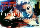 The Eddy Duchin Story - German Movie Poster (xs thumbnail)