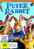 Peter Rabbit - Australian DVD cover (xs thumbnail)