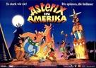 Asterix in Amerika - German Movie Poster (xs thumbnail)