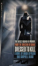 Dressed to Kill - VHS movie cover (xs thumbnail)