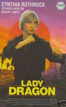 Lady Dragon - German VHS cover (xs thumbnail)