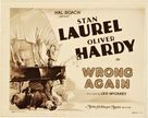 Wrong Again - Movie Poster (xs thumbnail)