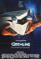 Gremlins - German Movie Poster (xs thumbnail)
