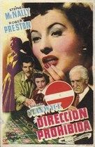 The Lady Gambles - Spanish Movie Poster (xs thumbnail)