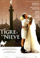 Tigre e la neve, La - Spanish Movie Poster (xs thumbnail)