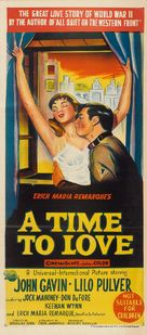 A Time to Love and a Time to Die - Australian Movie Poster (xs thumbnail)