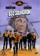 633 Squadron - Australian DVD cover (xs thumbnail)