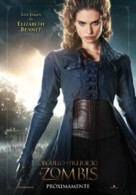Pride and Prejudice and Zombies - Spanish Movie Poster (xs thumbnail)