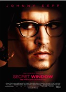 Secret Window - Norwegian Movie Poster (xs thumbnail)