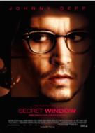 Secret Window - Norwegian Movie Poster (xs thumbnail)