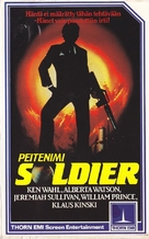 The Soldier - Finnish VHS movie cover (xs thumbnail)