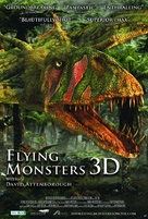 Flying Monsters 3D with David Attenborough - British Movie Poster (xs thumbnail)