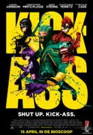 Kick-Ass - Dutch Movie Poster (xs thumbnail)