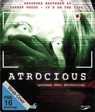 Atrocious - German Blu-Ray cover (xs thumbnail)