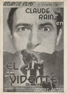 The Clairvoyant - Spanish Movie Poster (xs thumbnail)