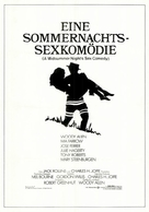 A Midsummer Night's Sex Comedy - German Movie Poster (xs thumbnail)
