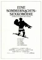 A Midsummer Night's Sex Comedy - German Movie Poster (xs thumbnail)