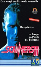 Scanners III: The Takeover - German VHS cover (xs thumbnail)
