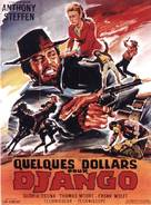 Pochi dollari per Django - French Movie Poster (xs thumbnail)