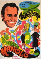 El padre Manolo - Spanish Movie Poster (xs thumbnail)