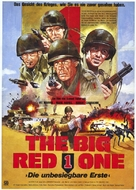 The Big Red One - German Movie Poster (xs thumbnail)