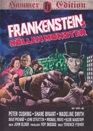 Frankenstein and the Monster from Hell - German DVD cover (xs thumbnail)