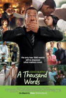 A Thousand Words - Movie Poster (xs thumbnail)