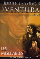 Les misérables - French DVD movie cover (xs thumbnail)