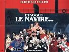 E la nave va - French Movie Poster (xs thumbnail)