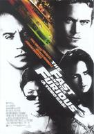 The Fast and the Furious - Spanish Movie Poster (xs thumbnail)