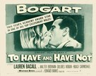 To Have and Have Not - Movie Poster (xs thumbnail)