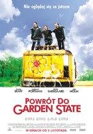 Garden State - Polish Movie Poster (xs thumbnail)